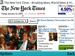 nytimes.com on E61 OSS at 50% Zoom