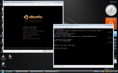 Edgy Eft on Virtualbox & Virtual PC on Vista