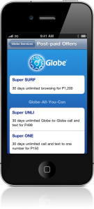 For Globe Postpaid & Prepaid subscribers only